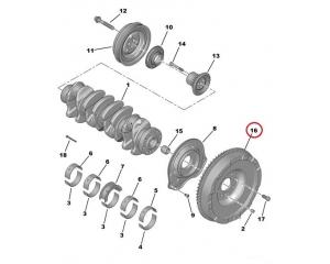 Hooratas Citroen Jumper, Peugeot Boxer 2,2HDI 06-  74Kw