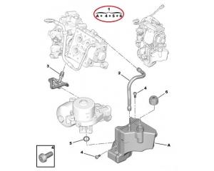 Бачок гидравлической жидкости Citroen/Peugeot BWM 6