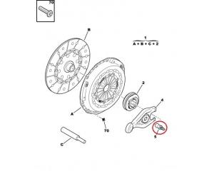 Clutch fork ball joint Citroen/Peugeot 2,0HDI 16V/2,2EW