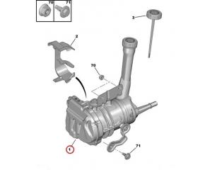 Power steering pump Berlingo/Partner 2008-