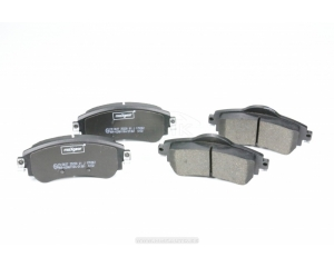 Brake pad set front Citroen C4 09-
