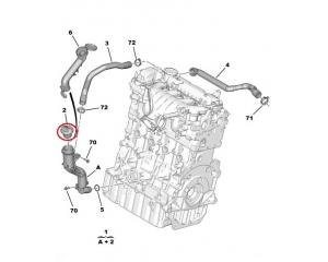 Õlikork ülemine Citroen Peugeot 2,0HDI