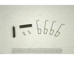 Disk brake pad accessory kit rear PSA/Renault