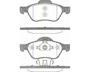Тормозные колодки передние Renault Laguna II/Megane II