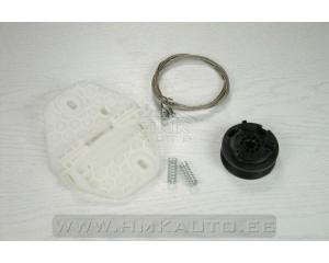 Window regulator repair kit front left Dacia Logan