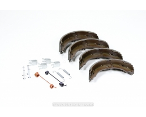 Käsipiduriklotside komplekt+kinnituskomplekt Jumper/Boxer/Ducato 2006-