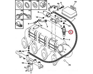 Glow plug Jumper/Boxer 2,8HDI