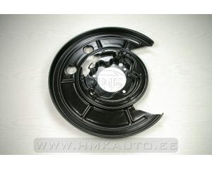 Защита тормозного диска задняя левая Jumper/Boxer/Ducato 2006-