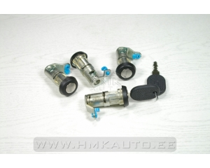 Lock sylinder kit (4pcs.) Iveco Daily 00-
