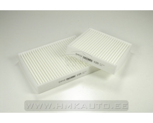 Cabin air filter Citroen C3/DS3/Peugeot 207 (2pcs.)