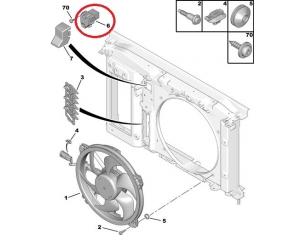 Блок управления вентилятором охлаждения Citroen C4/C4 Picasso/Berlingo, Peugeot Partner/206/307
