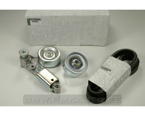 Alternator belt kit Renault Master 3,0DCi ZD3 engine