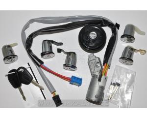Lock barrel set with ignition lock OEM Berlingo/Partner 02-08