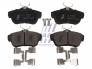 Brake pad set rear Jumpy/Expert/Scudo 07-