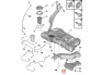 Additional fuel tank Citroen C5/C6, Peugeot 407/508