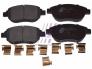 Front brake pads Citroen C3/C4/Xsara/Berlingo; Peugeot 206/207/307/Partner