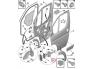 Uksepiiraja Jumper/Boxer/Ducato 2006-> esiuksele