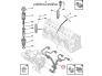 Fuel pipe set Citroen/Peugeot 1,9D DW8