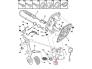 Clutch pedal mount Berlingo/Partner 1.6HDI