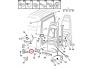 Oven sarana, takana, alempi, oikea Jumper/Boxer/Ducato 94-06 H1, H2, H3