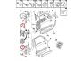 Oven sarana pultti Peugeot/Citroen