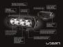 Дополнитеьный дальний свет ST-2 Evolution LED SPOTLIGHT
