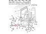 Oven sarana, takana, alempi, vasen Jumper/Boxer/Ducato 94-06 H1, H2, H3