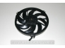 Fan, radiator Peugeot 206 with air conditioner